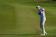 Rasmus Hojgaard (DEN) on the 18th during Round 4 of the Oman Open 2020 at the Al Mouj Golf Club, Muscat, Oman . 01/03/2020<br /> Picture: Golffile   Thos Caffrey<br /> <br /> <br /> All photo usage must carry mandatory copyright credit (© Golffile   Thos Caffrey)