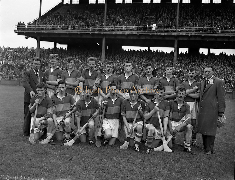 28/07/1957<br /> 07/28/1957<br /> 28 July 1957<br /> All-Ireland Senior Semi-Final: Tipperary v Galway at Croke Park, Dublin. Tipperary Team.