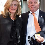 NLD/Amsterdam/20150926 - Afsluiting viering 200 jaar Koninkrijk der Nederlanden, jan Slagter en partner Ingrid
