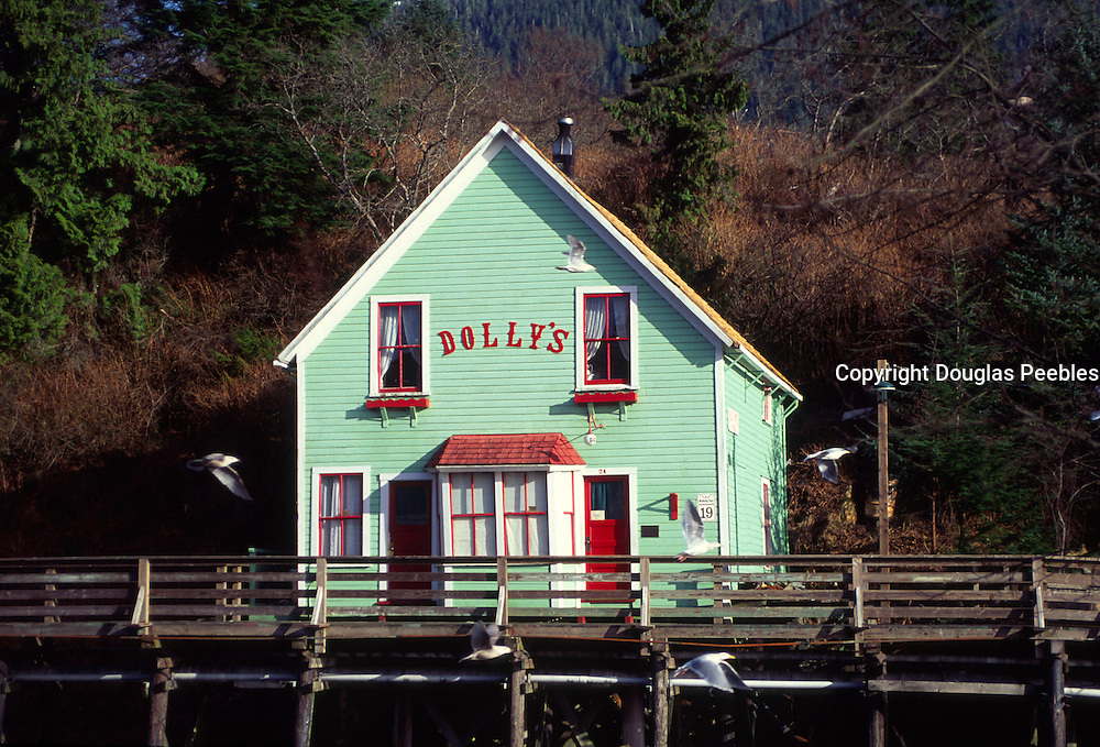 Dolly's, Creek Street, Ketchikan, Alaska<br />
