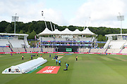 final preparations ahead of the ICC Cricket World Cup 2019 match between South Africa and India at the Hampshire Bowl, Southampton, United Kingdom on 5 June 2019.
