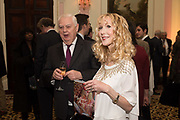 NORMAN LAMONT; BASIA BRIGGS, Launch of book by Basia Briggs, Mother Anguish. The Ritz hotel, Piccadilly. 4 December 2017