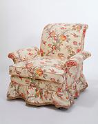 a comfortable armchair.