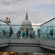 St. Paul's Cathedral, on 18 July 2019, City of London, UK.