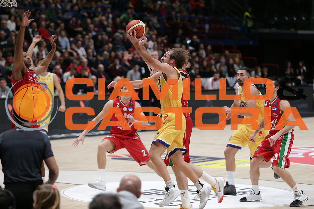 Poeta Giuseppe<br /> EA7 Olimpia Milano vs Auxilium Fiat Torino<br /> Lega Basket Serie A 2016/2017<br /> Milano 05/03/2017<br /> Foto Ciamillo-Castoria/A. Gilardi