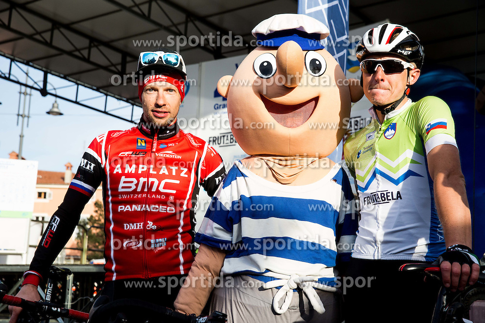 MUGERLI Matej (SLO) of BMC Amplatz, KUMP Marko (SLO) of Slovenian National Team  after the UCI Class 1.2 professional race 4th Grand Prix Izola, on February 26, 2017 in Izola / Isola, Slovenia. Photo by Vid Ponikvar / Sportida