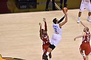 DESCRIZIONE : Berlino Berlin Eurobasket 2015 Group B Turkey Italy<br /> GIOCATORE : Marco Belinelli<br /> CATEGORIA : tiro tre punti meta campo<br /> SQUADRA : Turkey Italy<br /> EVENTO : Eurobasket 2015 Group B <br /> GARA : Turkey Italy<br /> DATA : 05/09/2015 <br /> SPORT : Pallacanestro <br /> AUTORE : Agenzia Ciamillo-Castoria/Giulio Ciamillo <br /> Galleria : Eurobasket 2015 <br /> Fotonotizia : Berlino Berlin Eurobasket 2015 Group B Turkey Italy