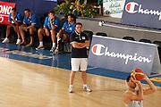 DESCRIZIONE : Bormio Ritiro Nazionale Italiana Maschile Preparazione Eurobasket 2007 Allenamento <br /> GIOCATORE : Carlo Recalcati<br /> SQUADRA : Nazionale Italia Uomini EVENTO : Bormio Ritiro Nazionale Italiana Uomini Preparazione Eurobasket 2007 GARA : <br /> DATA : 27/07/2007 <br /> CATEGORIA : Allenamento <br /> SPORT : Pallacanestro <br /> AUTORE : Agenzia Ciamillo-Castoria/S.Silvestri <br /> Galleria : Fip Nazionali 2007 <br /> Fotonotizia : Bormio Ritiro Nazionale Italiana Maschile Preparazione Eurobasket 2007 Allenamento <br /> Predefinita :