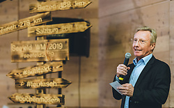 23.10.2018, Olympia Kongress Zentrum, Seefeld, AUT, Forum Nordicum 2018, im Bild Walter Hofer (FIS Skisprung Renndirektor) // FIS Ski Jumping Race Director Walter Hofer during the Forum Nordicum 2018 at the Olympic Congress Center in Seefeld, Austria on 2018/10/23. EXPA Pictures © 2018, PhotoCredit: EXPA/ JFK