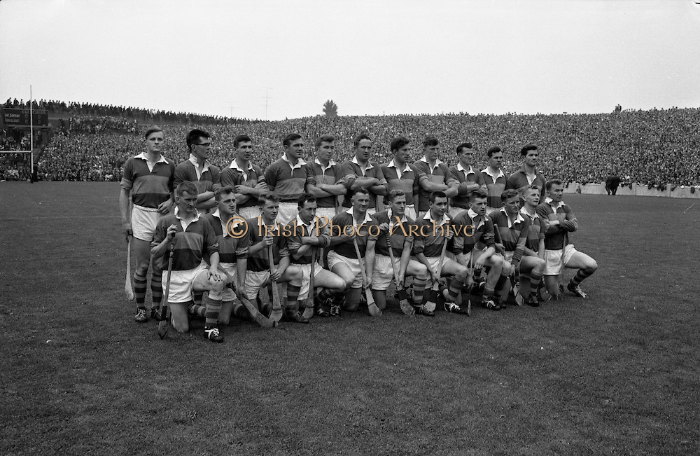 All-Ireland Senior Hurling Final, Wexford v Tipperary, at Croke Park. .Senior Wexford v Tipperary, Tipperary 3-10 Wexford 2-11, .Tipperary Team..02.09.1962