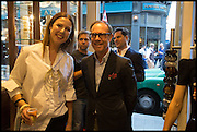 LOUISE OLSEN; CRAIG MARKHAM, Dinosaur Designs launch of their first European store in London. 35 Gt. Windmill St. 18 September 2014