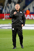 Leicester City manager Craig Shakespeare during the Champions League round of 16, game 2 match between Leicester City and Sevilla at the King Power Stadium, Leicester, England on 14 March 2017. Photo by Richard Holmes.