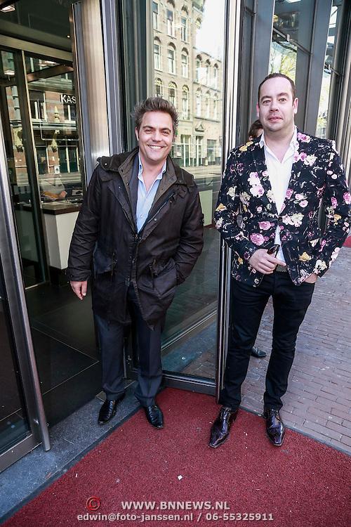 NLD/Amsterdam/20130428 - Premiere Jon en de Jongens, Mike Starink en ...............