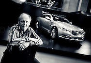 Copyright JIm Rice &copy; 2013.<br /> Ian Callum. <br /> Global director of Design for Jaguar Cars ,former designer  Aston Martin