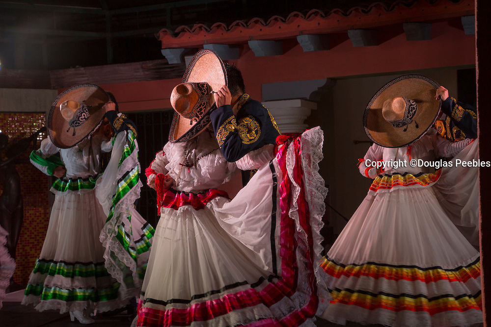Mexican Traditional Folk, Dancing, Puerto Vallarta, Jalisco, Mexico