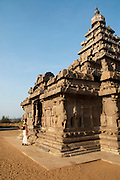 India, Tamil Nadu, Mahabalipuram, The Shore Temple