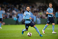 SYDNEY, AUSTRALIA - MAY 12: Sydney FC midfielder Milos Ninkovic (10) controls the ball at the Elimination Final of the Hyundai A-League Final Series soccer between Sydney FC and Melbourne Victory on May 12, 2019 at Netstrata Jubilee Stadium in Sydney, Australia. (Photo by Speed Media/Icon Sportswire)