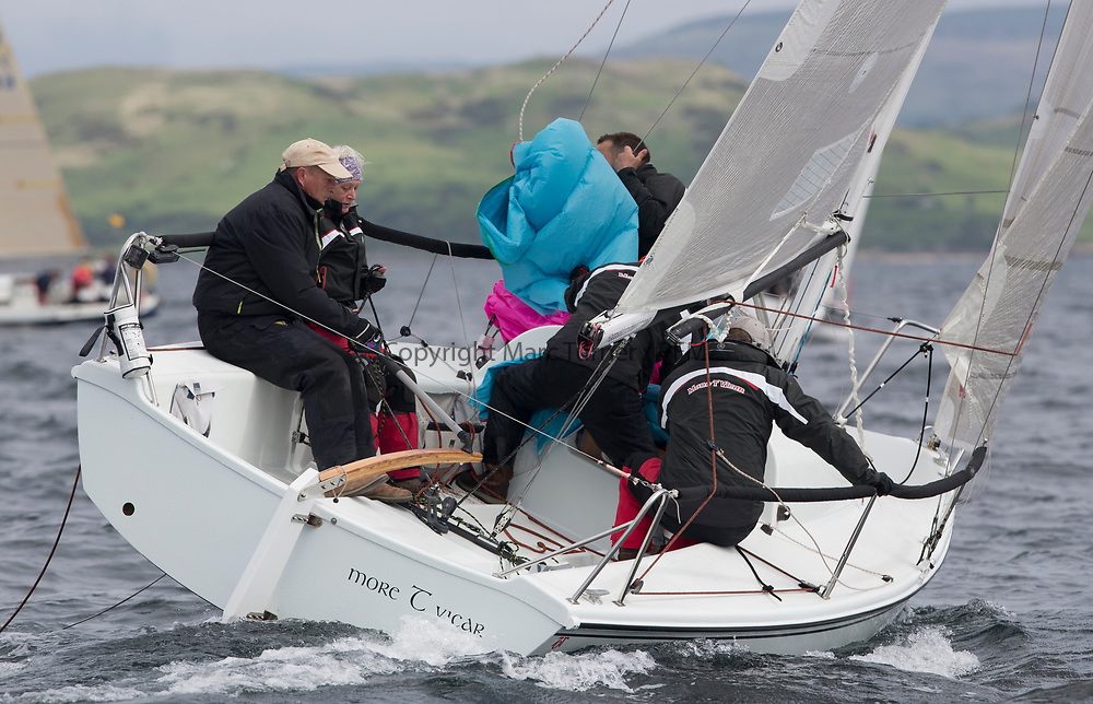 Silvers Marine Scottish Series 2017<br /> Tarbert Loch Fyne - Sailing Day 3<br /> <br /> GBR7052N, More T Vicar, Carl Allen, Royal North of Ireland YC