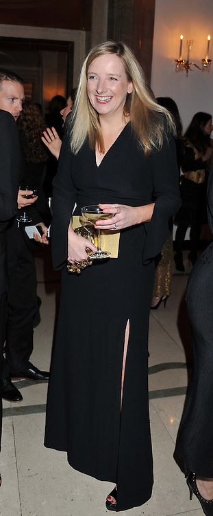SARAH BURTON at the Harper's Bazaar Women of the Year Awards 2011 held at Claridge's, Brook Street, London on 7th November 2011.