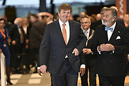 King Willem-Alexander exhibition ''Willem'' reflections of the 80 years war, 24-04-2018