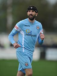 ALAN AINNS  SLOUGH TOWN, Kettering Town v Slough Town, Evostick South Premier League Latimer Park, Saturday 21st October 2017 Score 0-0 Att 824.