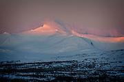Solnedgang, Sylan (Storsylen) i Tydal