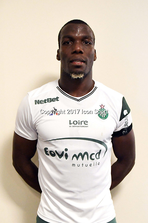 Florentin Pogba during the friendly match between As Saint-Etienne and FC Stade Nyonnais on July 5, 2017 in Saint-Etienne, France. (Photo by Philippe Le Brech /Icon Sport)