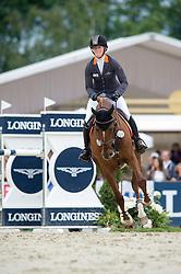 Auffarth Sandra, (GER), Opgun Louvo<br /> Jumping - CIC3* - Luhmuhlen 2016<br /> © Hippo Foto - Jon Stroud