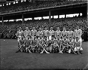 08/08/1954<br /> 8 August 1954<br /> All-Ireland Senior Semi-Finals: Dublin v Antrim at Croke Park, Dublin. Dublin Team.