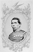 Tomas Meja (1820-1867) Mexican soldier. During the French intervention of 1862 he fought as a cavalry general on the side of the Emperor Maximilian. Executed for treason with the Emperor and  General Miramon.