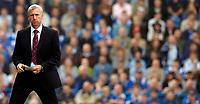 Photo: Alan Crowhurst.<br />Portsmouth v West Ham United. The Barclays Premiership. 14/10/2006. West Ham manager Alan Pardew look on.