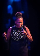 Suzanne Douglas performing during SOPAC's 2016 Gala.