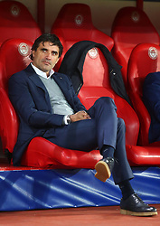 04.11.2015, Karaiskakis Stadium, Piraeus, GRE, UEFA CL, Olympiacos vs Dinamo Zagreb, Gruppe F, im Bild Zoran Mamic // during UEFA Champions League group F match between Olympiacos and Dinamo Zagreb at the Karaiskakis Stadium in Piraeus, Greece on 2015/11/04. EXPA Pictures © 2015, PhotoCredit: EXPA/ Pixsell/ Slavko Midzor<br /> <br /> *****ATTENTION - for AUT, SLO, SUI, SWE, ITA, FRA only*****