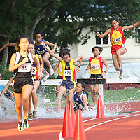 A Division Girls 2000m Steeplechase