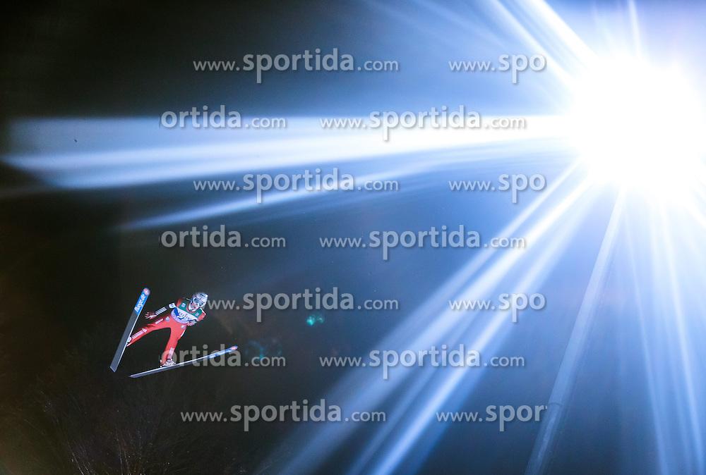 05.01.2015, Paul Ausserleitner Schanze, Bischofshofen, AUT, FIS Ski Sprung Weltcup, 63. Vierschanzentournee, Qualifikation, im Bild Anders Fannemel (NOR) // during Qualification of 63rd Four Hills Tournament of FIS Ski Jumping World Cup at the Paul Ausserleitner Schanze, Bischofshofen, Austria on 2015/01/05. EXPA Pictures © 2015, PhotoCredit: EXPA/ JFK