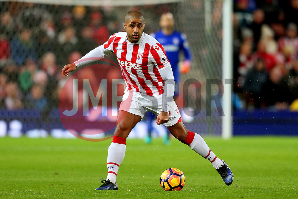 Glen Johnson of Stoke City - Mandatory by-line: Matt McNulty/JMP - 03/01/2017 - FOOTBALL - Bet365 Stadium - Stoke-on-Trent, England - Stoke City v Watford - Premier League
