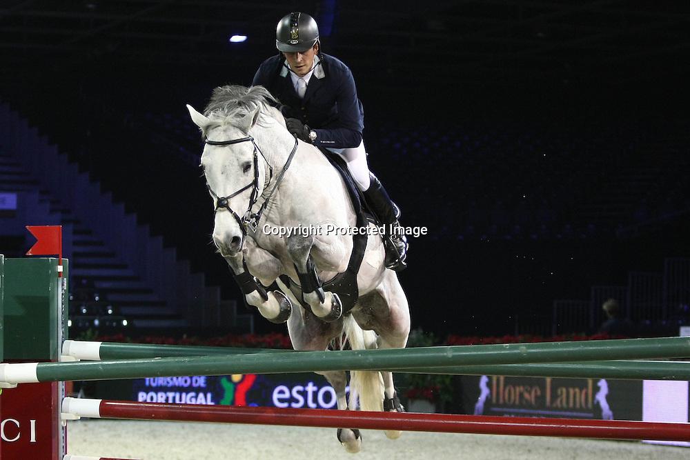 Equitation : Gucci Masters - 03.12.2010 - Rolex Speed Challenge CSI5 - Julien Epaillard (FRA/ Commissario) *** Local Caption *** 00042820