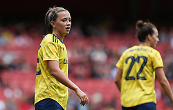 Katie McCabe of Arsenal discusses tactics with Leonie Maier of Arsenal during a break in play - Mandatory by-line: Arron Gent/JMP - 28/07/2019 - FOOTBALL - Emirates Stadium - London, England - Arsenal Women v Bayern Munich Women - Emirates Cup- Mandatory by-line: Arron Gent/JMP - 28/07/2019 - FOOTBALL - Emirates Stadium - London, England - Arsenal Women v Bayern Munich Women - Emirates Cup