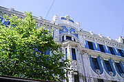 Art Nouveau apartment building, Riga, Latvia