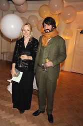 TOM CRAIG and BAY GARNETT at Vogue's Fantastic Fashion Fantasy Party in association with Van Cleef & Arpels to celebrate Vogue's Secret Address Book held at One Marylebone Road, London NW1 on 3rd November 2008.