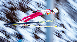 17.12.2016, Nordische Arena, Ramsau, AUT, FIS Weltcup Nordische Kombination, Skisprung, im Bild Terence Weber (GER) // Terence Weber of Germany during Skijumping Competition of FIS Nordic Combined World Cup, at the Nordic Arena in Ramsau, Austria on 2016/12/17. EXPA Pictures © 2016, PhotoCredit: EXPA/ JFK