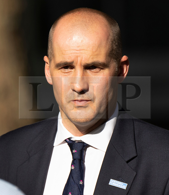 © Licensed to London News Pictures. 22/07/2019. London, UK. Northern Powerhouse Minister Jake Berry MP arrives for Prime Minister Theresa May's farewell drinks reception at Downing Street.  Voting in the Conservative party leadership election ends today with the results to be announced tomorrow. Photo credit: Peter Macdiarmid/LNP