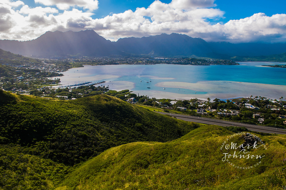 Kaneohe Bay, Oahu, Hawaii