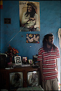 """M.P. is a young Rasta of 23 years old. He lives in a single room indipendent house. In 2002 he left the Barbados through the repatriation programme organized by the Twelve Tribe of Israel, one of the major Rastafarian groups. In the village there are about 300 families of Caribbean origin. Shashemene, south Ethiopia, on friday, March 21 2008.....""""Shashamene or Shashemene (ethiopian name), located in the Oromia Region of Ethiopia, is """"the place"""", the ancestral homeland. For the whole Rastafarians repatriation to Africa or to Zion or to the Promise Land is the first goal. Rastas assert that """"Mount Zion"""" is a place promised by Jah and they  claim themselves to represent the real Children of Israel in modern times. During the last years of the 40's, Emperor Haile Selassie I, considerated from that movement incarnation of God, donated 500 acres of his private land to members and other settlers from Jamaica including other parts of the Caribbean..The Rastafarian settlement in Shashamane was recently reported to exceed two hundred families. In January 2007 it organized an exhibition and a bazaar in the city. It was also reported recently prior to the Ethiopian Millennium that various pro-Ethiopian World Federation groups, consisting of indigenious Ethiopians and Rastafarians, have given support to one of many five year plans proposed for sustainable development of Shashamene, Ethiopia."""""""