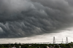 Storm over Charleston, South Carolina