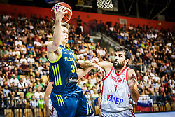 Gregor Glas of Slovenia during friendly basketball match between Slovenia and Croatia , on September 8, 2018 in Arena Zlatorog, Celje, Slovenia. Photo by Ziga Zupan / Sportida