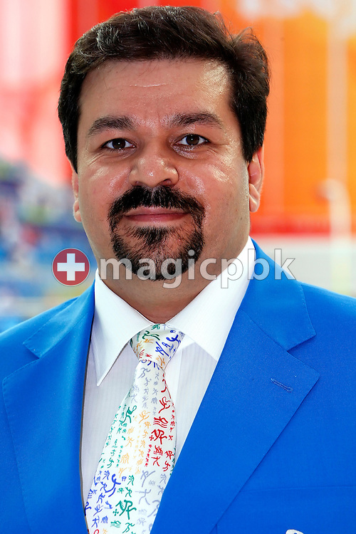 Dr. Farhad Moradi Shahpar - member of FINA Sports Medicine - SMC - is pictured during a photo call held at the National Aquatics Center (Water Cube) at the Beijing 2008 Olympic Games in Beijing, China, Monday, Aug. 11, 2008. (Photo by Patrick B. Kraemer / MAGICPBK)