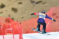 GABEL Keith, SB-LL2, USA, Banked Slalom at the WPSB_2019 Para Snowboard World Cup, La Molina, Spain