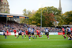 Worcester Warriors play Bath Rugby at Recreation Ground - Mandatory by-line: Dougie Allward/JMP - 07/10/2017 - RUGBY - Recreation Ground - Bath, England - Bath Rugby v Worcester Warriors - Aviva Premiership