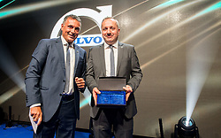 Robert Grozdanovski, CEO of Volvo Trucks for Central East Region and Dusan Mavric, CEO of Volvo Trucks for Adriatic North Region at Opening of the new Volvo Trucks and Buses centre, on January 26, 2018 in Zadobrova, Ljubljana, Slovenia. Photo by Vid Ponikvar / Sportida